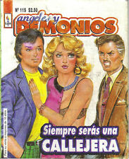 *Angeles Y Demonios* Siempre Seras Una Callejera - Mexican Comic ~>Sexy