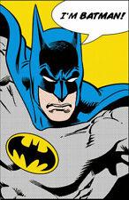 """BATMAN QUOTE POSTER (I'M BATMAN) DC COMICS POSTER, SIZE 24""""x36"""""""