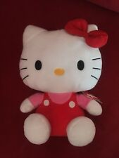 Hello Kitty Giant Pez Dispenser And Ty Cuddly Toy