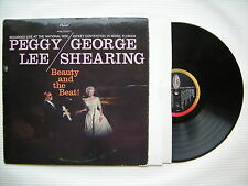 Peggy Lee - George Shearing - Beauty & The Beat, Capitol T-1219 Ex+ Condition LP