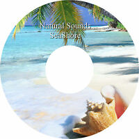 Natural Sounds Seashore CD Relaxation Sleep Aid Stress Anxiety Relief Heal Calm