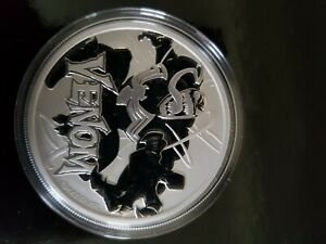 MARVEL VENOM 1 oz .9999 Solid Silver Marvel Venom!