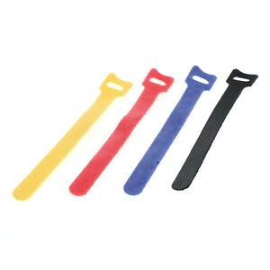 Kabelmanagement Klettband 25er Set bunt 15cm Kabelhalter einfache Verwendung