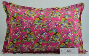 "Handmade Toucan & Paisley Oxford Style Cushion Inc Pad 14"" x 20"" (36cm x 51cm)"