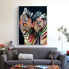 5D Zebra DIY Full Diamond Painting By Number Kits Cross Stitch 30*40Cm  Y8