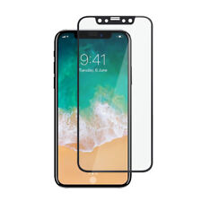 For iPhone X 10 3D Curved Full Cover Toughened Tempered Glass Screen Protector