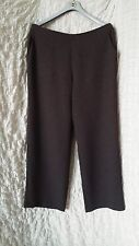 OSKA stone flattering wide leg formal trousers size 5 extra large