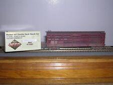 L.L./Proto 2000  Baltimore & Ohio Mather 40' D.D.Stock Car #110371 Weath. 1/87