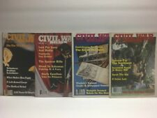 Lot of 4 issues - Civil War Times Illustrated Magazine - 1983-1984
