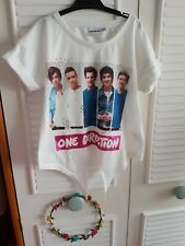 Girls One Direction T Shirt 7/8