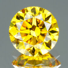 1.4 MM CERTIFIED Round Rare Yellow Color VVS Loose Natural Diamond Wholesale Lot