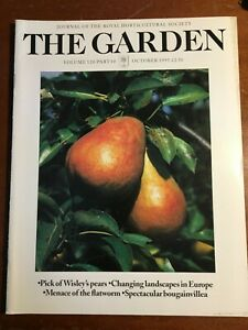 THE ROYAL HORTICULTURAL SOCIETY THE GARDEN JOURNAL OCTOBER 1995 VOL 120 PART 10