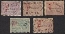 France Revenue Stamps FRSK 615Z Revenue Effets Used Lot 5