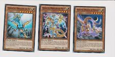 Yu-Gi-Oh! -3X.HIERATIC DRAGON OF NEBTHET/SU/NUIT - Rare 1st Edition.LOT.5
