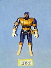 POWER RANGERS ZEO BLACK FLIPHEAD RANGER (202)