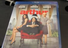Arthur Blu-Ray (Russell Brand, Helen Mirren, Jennifer Garner) New sealed