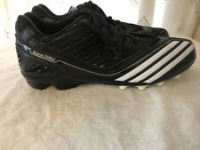 Adidas Scorch Thrill Men's Field Cleats Shoes NWOB Black/White Size 12~Free Ship