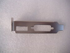 QTY 30 Dell Lenovo HP IBM PCI Bracket Video Graphics Card DVI HDMI Port Half