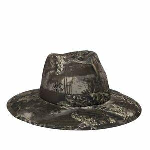 Men's Realtree Max-1 XT Camouflage Lightweight Performance Fabric Safari Hat S/M