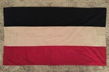 Large Wwi Wwii Imperial German Tri-Color Flag