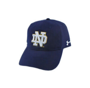 NEW Under Armour 2019 Notre Dame Airvent Coolswitch Navy Adjustable Hat/Cap
