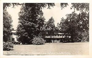 C40/ Mammoth Cave National Park Kentucky Ky RPPC Postcard c50s Hotel 1