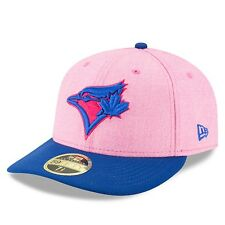 2018 New Era Toronto Blue Jays 59fifty 6 7/8 Cap Hat MLB Mother's Day Low Crown