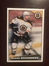 2012-13 Panini Stickers #37 - Dennis Seidenberg - Boston Bruins