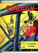 GORDON # LA SPADA ROSSA # N.13 Gennaio 1965 # Edizioni Fratelli Spada