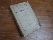 OEUVRE DES CAMPAGNES Par un Ancien Curé DOUNIOL 1865 2e Edition