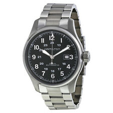 Hamilton Khaki Officer Automatic Black Dial Mens Watch H70625133