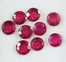 18.35 Ct AAA+ Quality 9Pieces Certified Natural Mozambique Ruby Gemstone Lot