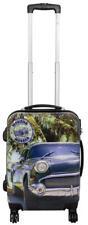Hartschalen Koffer Trolley Reise Urlaub Handgepäck Motiv PM Havana Cuba Gr. M