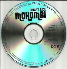 MOHOMBI Bumby Ride w/ RARE RADIO TRK & INSTRUMENTAL PROMO DJ CD single 2010
