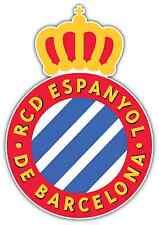 """RCD Espanyol FC Spain Football Soccer Car Bumper Window Sticker Decal 4""""X5"""""""