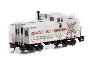 ATHEARN ROUNDHOUSE RND 90166 WIDE VISION CABOOSE BNSF 12580 OPERATION LIFESAVER