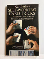 Self Working Card Tricks by Karl Fulves from Murphy's Magic - Book 1976 First Ed