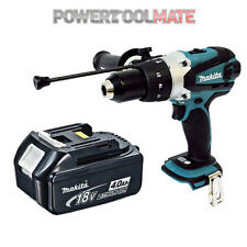 Makita DHP458Z 18V 2 Speed Combi Drill -Naked- Included x1 4.0Ah Battery BL1840