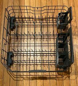 GE Dishwasher WD28X22827 WD28X3022 Genuine OE Lower Dish Rack w/ 2 Silverware