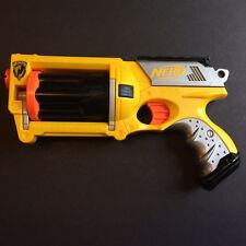 Yellow Nerf N-Strike Maverick REV-6 Revolver Dart Gun Steampunk Cosplay Mod Prop
