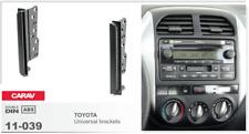 CARAV 11-039 2Din Kit de instalación de radio para Toyota Universal brackets