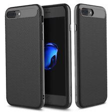 ROCK iPhone 7 8 Plus Vision Series Carbon Texture Fiber Protection Case