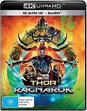 Thor - Ragnarok 4K Ultra HD (Blu-ray, 2018, 2-Disc Set) NEW & SEALED