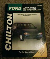 Ford Windstar: 1995 through 2003 (Chilton's Total Car Care Repair Manual)