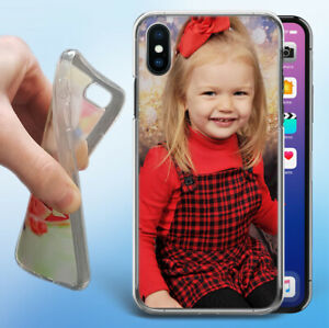 Personalised Rubber Photo Case Phone Cover For iPhone / Samsung Galaxy