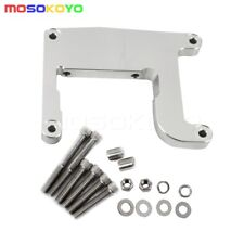 CNC Aluminium Twin Cam ''A'' Motor Adapter Plate to EVO Frame For Harley 99-06
