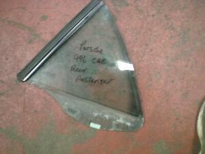 PORSCHE 996 CARRERA 97-04 PASSENGER N/S REAR WINDOW GLASS