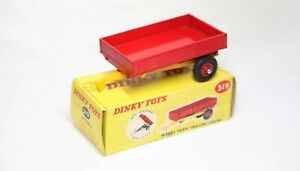 Dinky 319 Weeks Farm Trailer In Its Original Box - A Nice Vintage Model