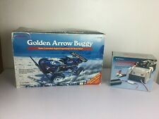 Golden Arrow Buggy Tandy Radio Shack RC Car Orig. Box w/Chargers Tested Works