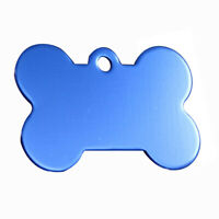 2X(38MM Personalized Customised Pet Puppy Dog Cat Animal Name ID Tags for CU8P5)